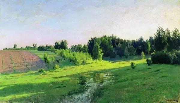 列维坦   俄罗斯杰出的写生画家 现实主义风景画大师插图4