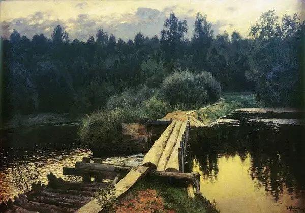 列维坦   俄罗斯杰出的写生画家 现实主义风景画大师插图7