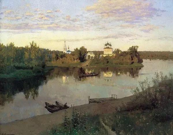 列维坦   俄罗斯杰出的写生画家 现实主义风景画大师插图8