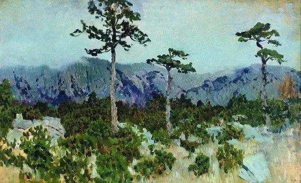 列维坦   俄罗斯杰出的写生画家 现实主义风景画大师插图10