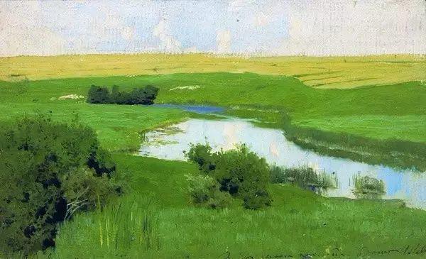 列维坦   俄罗斯杰出的写生画家 现实主义风景画大师插图11