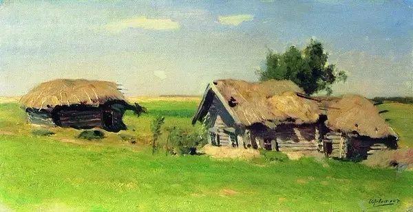 列维坦   俄罗斯杰出的写生画家 现实主义风景画大师插图12