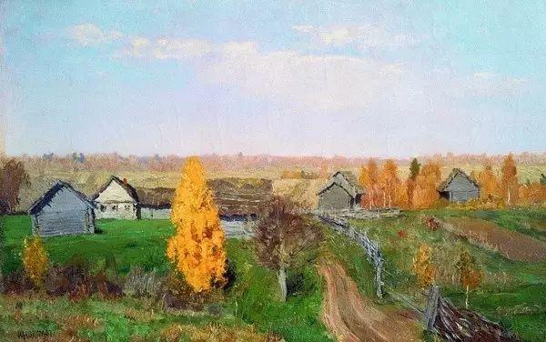 列维坦   俄罗斯杰出的写生画家 现实主义风景画大师插图13