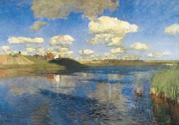 列维坦   俄罗斯杰出的写生画家 现实主义风景画大师插图15