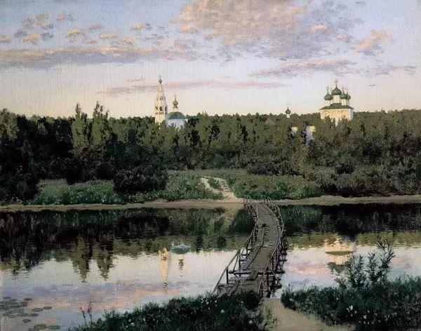 列维坦   俄罗斯杰出的写生画家 现实主义风景画大师插图16