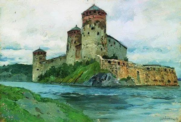 列维坦   俄罗斯杰出的写生画家 现实主义风景画大师插图18