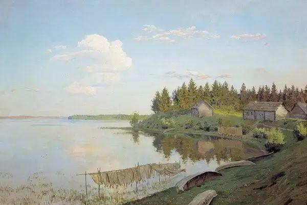 列维坦   俄罗斯杰出的写生画家 现实主义风景画大师插图20