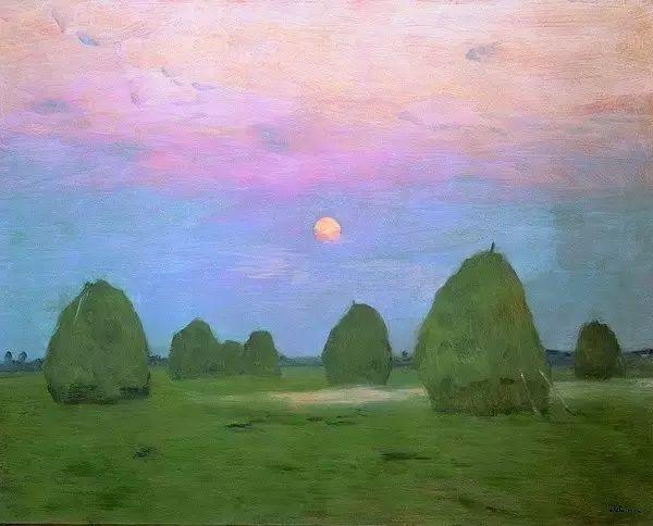 列维坦   俄罗斯杰出的写生画家 现实主义风景画大师插图28
