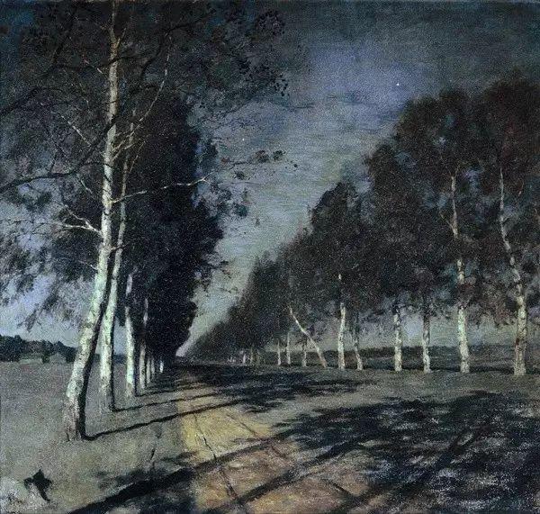 列维坦   俄罗斯杰出的写生画家 现实主义风景画大师插图30