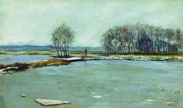 列维坦   俄罗斯杰出的写生画家 现实主义风景画大师插图41