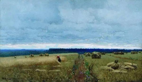 列维坦   俄罗斯杰出的写生画家 现实主义风景画大师插图43