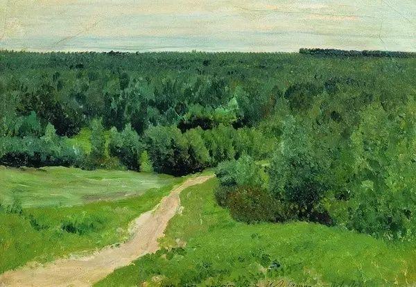 列维坦   俄罗斯杰出的写生画家 现实主义风景画大师插图44