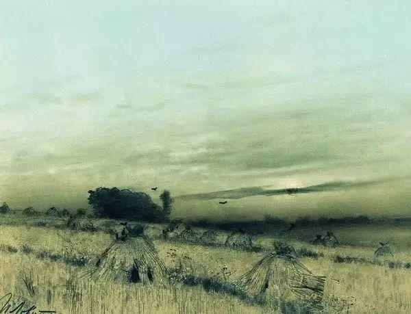列维坦   俄罗斯杰出的写生画家 现实主义风景画大师插图62