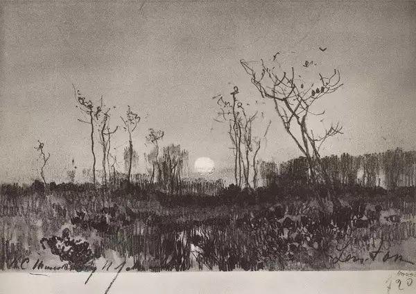列维坦   俄罗斯杰出的写生画家 现实主义风景画大师插图63