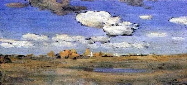 列维坦   俄罗斯杰出的写生画家 现实主义风景画大师插图73