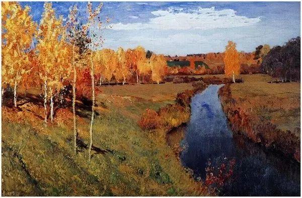 列维坦   俄罗斯杰出的写生画家 现实主义风景画大师插图75