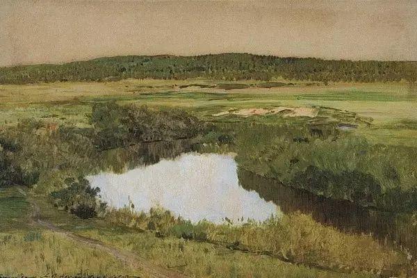 列维坦   俄罗斯杰出的写生画家 现实主义风景画大师插图76