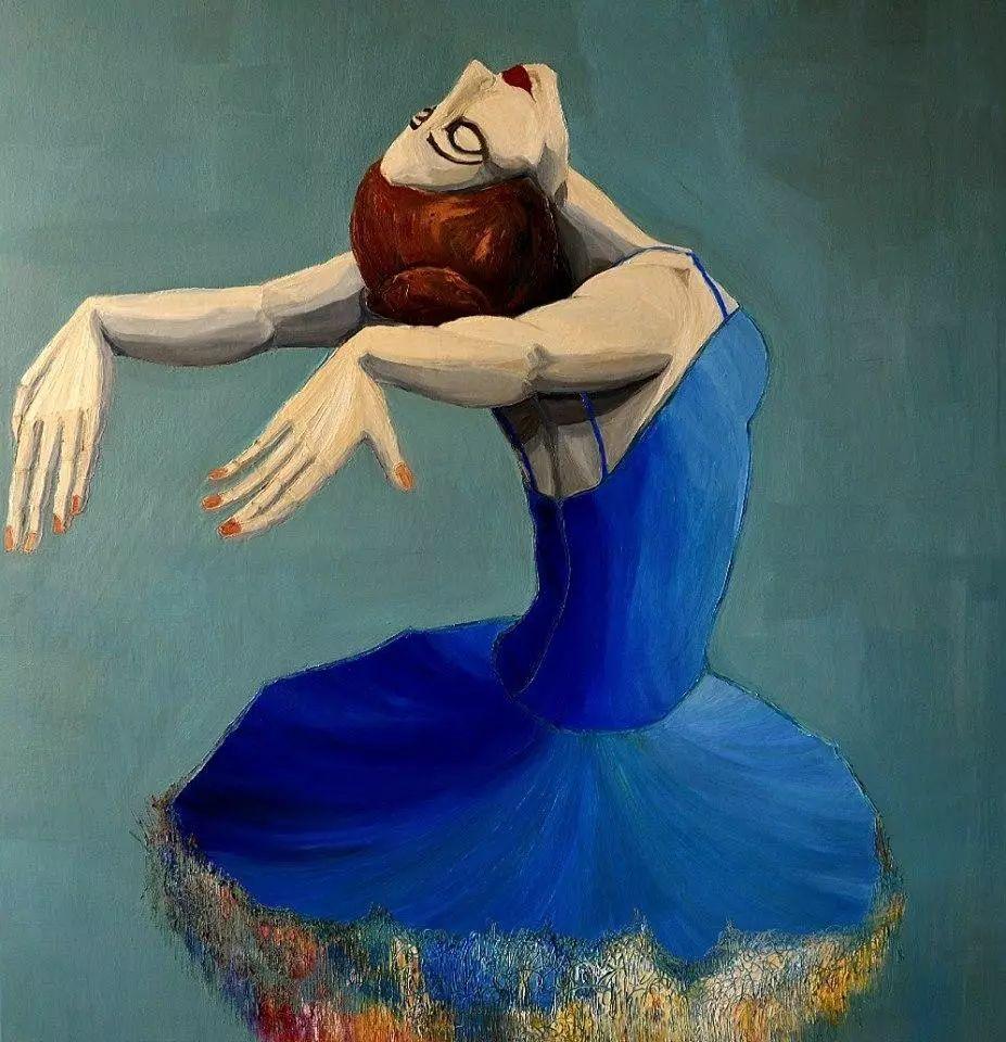 音乐舞蹈题材油画作品欣赏插图31