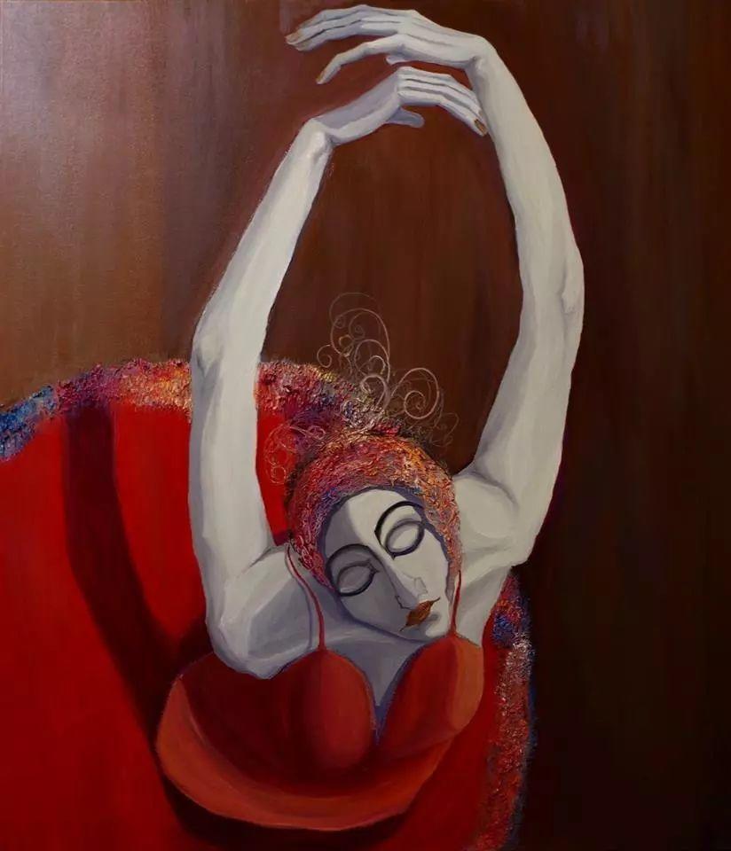音乐舞蹈题材油画作品欣赏插图37