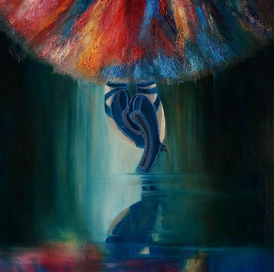 音乐舞蹈题材油画作品欣赏插图39