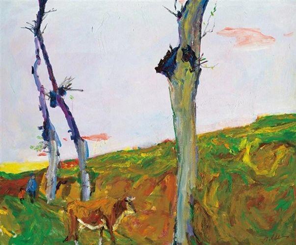 至纯至美  油画大师罗尔纯的色彩人生插图1