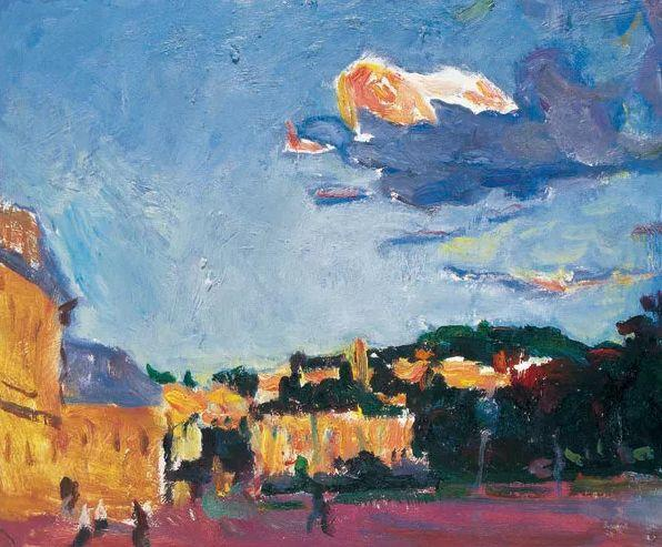 至纯至美  油画大师罗尔纯的色彩人生插图2