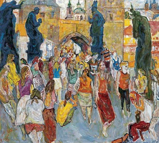 至纯至美  油画大师罗尔纯的色彩人生插图15