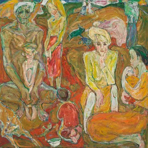 至纯至美  油画大师罗尔纯的色彩人生插图47