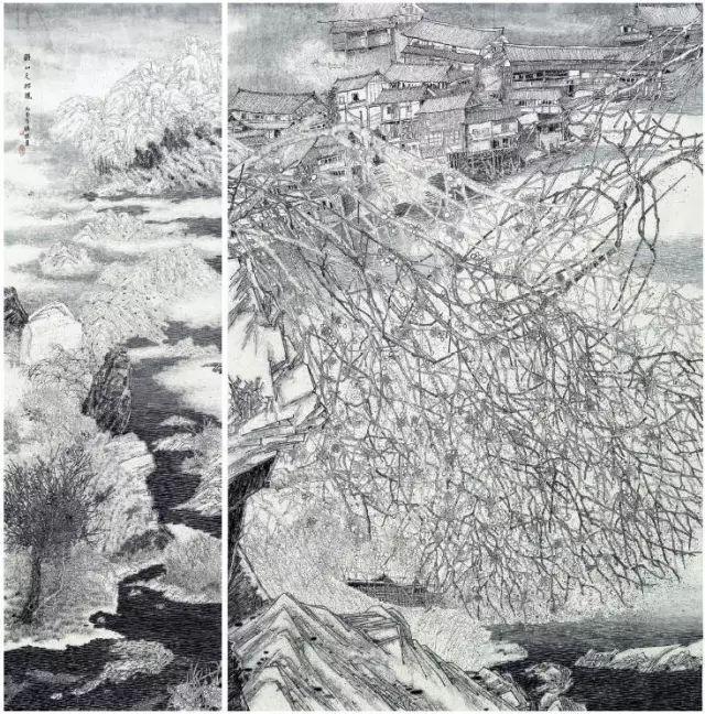 中国九大美院绘画优秀作品欣赏插图107