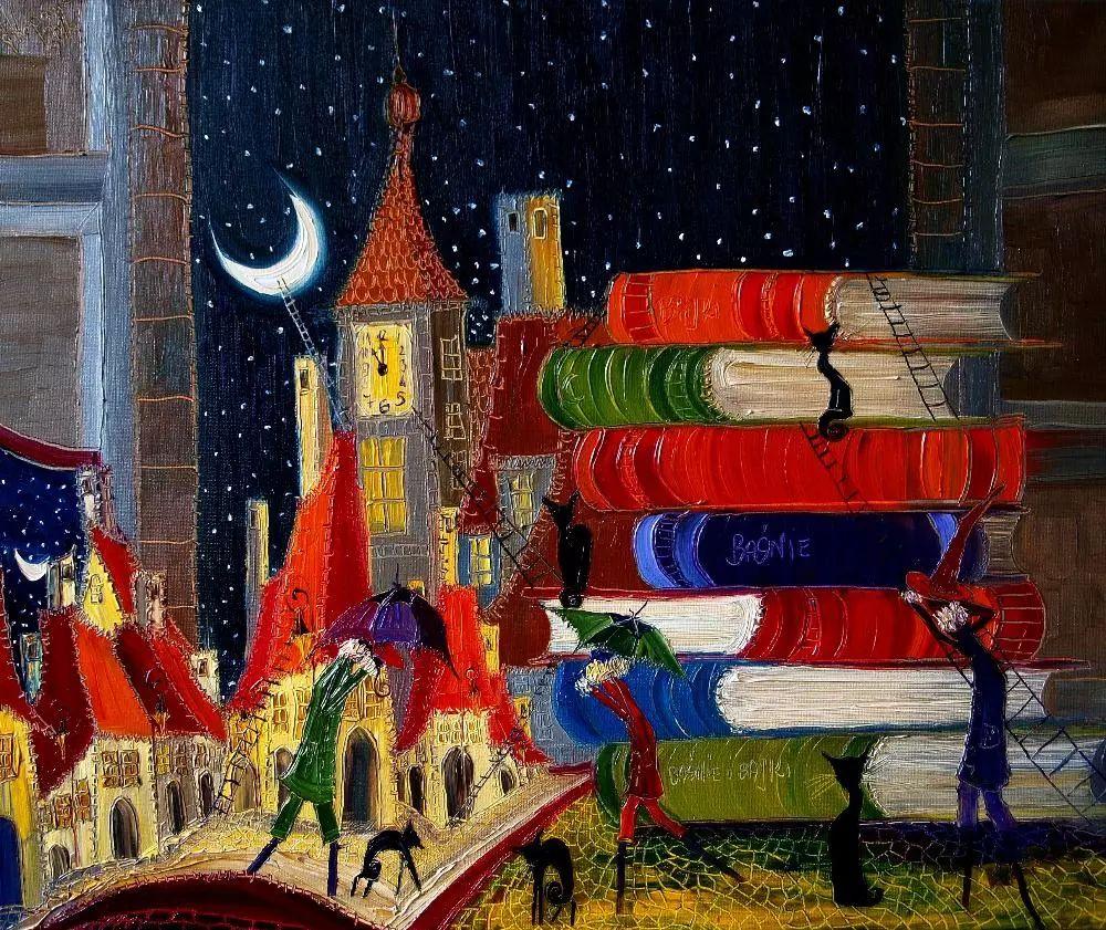 威尼斯、夜晚、猫 | 波兰Justyna Kopania插图