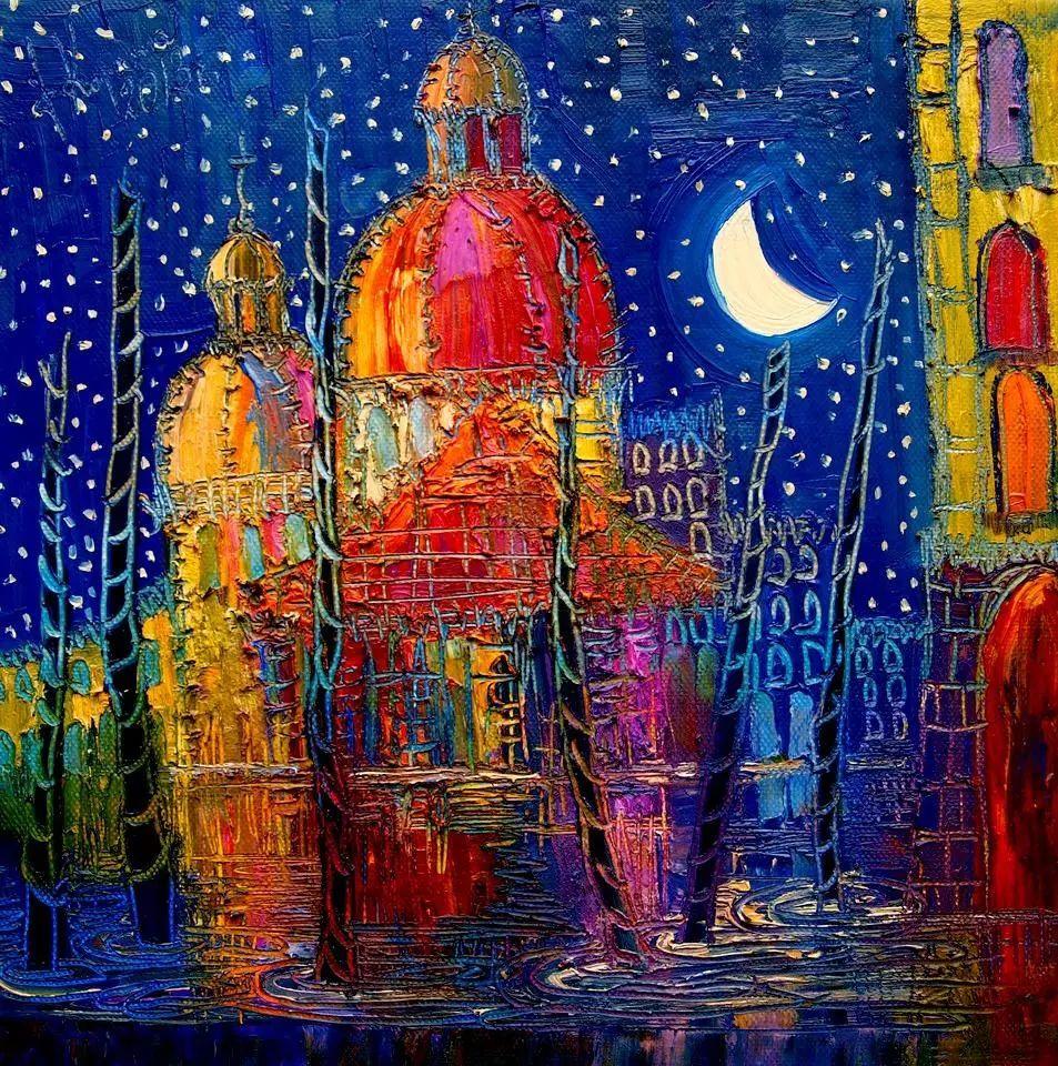 威尼斯、夜晚、猫 | 波兰Justyna Kopania插图1