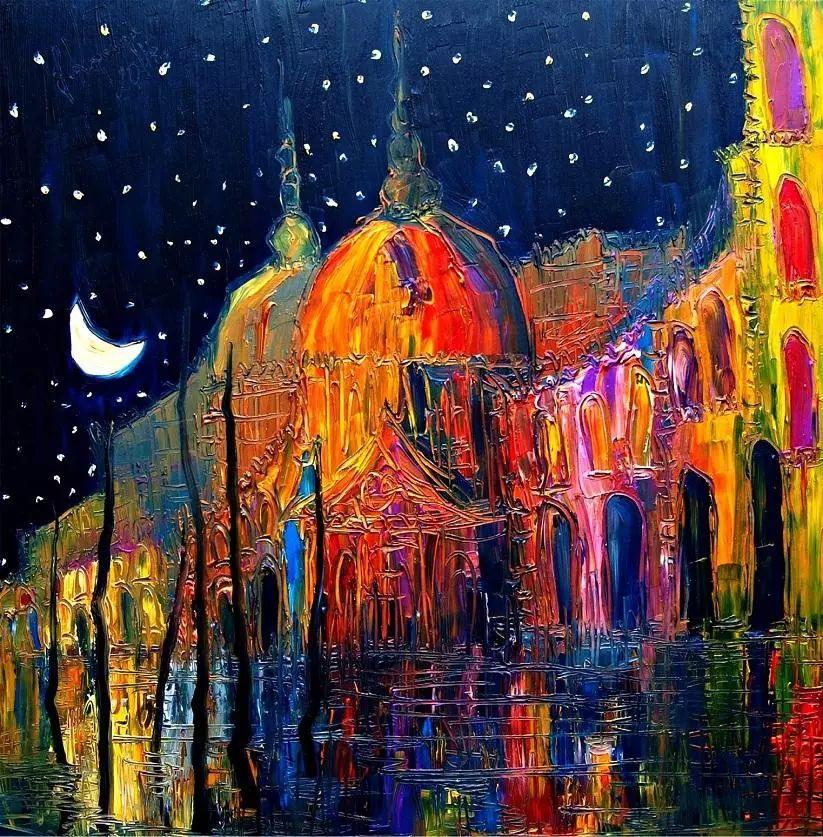 威尼斯、夜晚、猫 | 波兰Justyna Kopania插图2