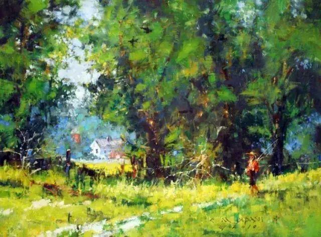 C·MICHAEL DUDASH的田园油画,太美了!插图3