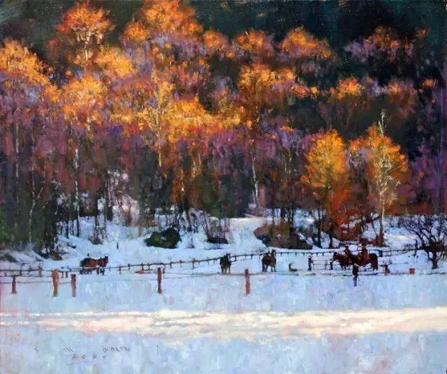 C·MICHAEL DUDASH的田园油画,太美了!插图9