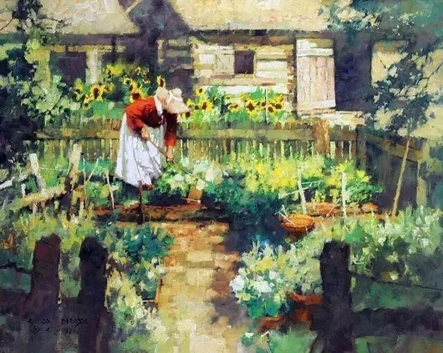 C·MICHAEL DUDASH的田园油画,太美了!插图11