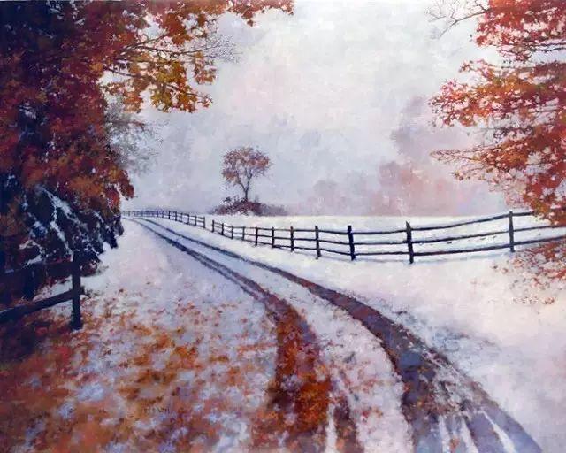 C·MICHAEL DUDASH的田园油画,太美了!插图13