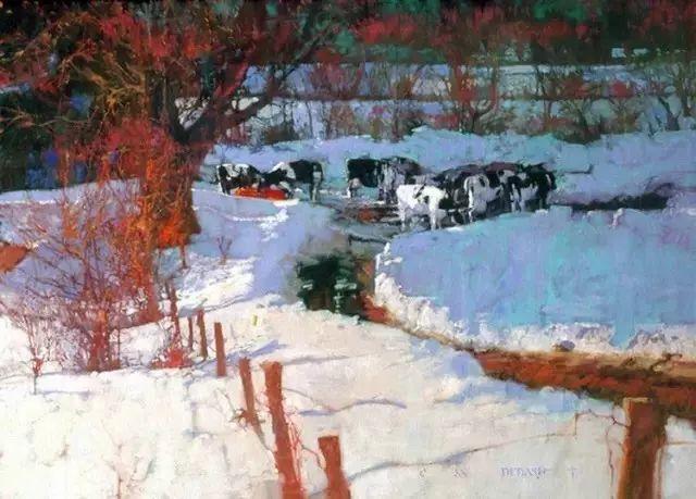 C·MICHAEL DUDASH的田园油画,太美了!插图23