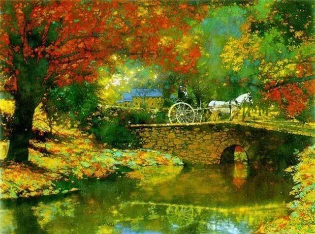 C·MICHAEL DUDASH的田园油画,太美了!插图25