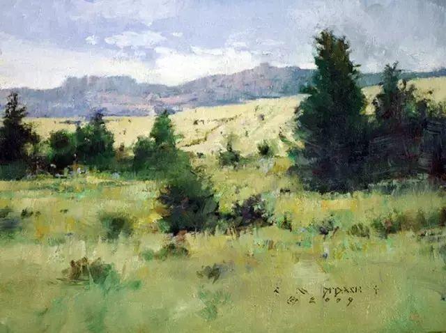 C·MICHAEL DUDASH的田园油画,太美了!插图29