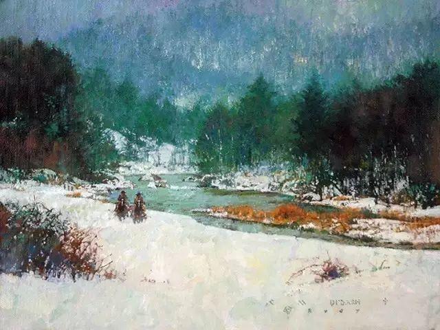 C·MICHAEL DUDASH的田园油画,太美了!插图31
