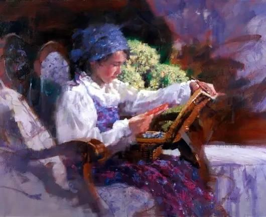 C·MICHAEL DUDASH的田园油画,太美了!插图33