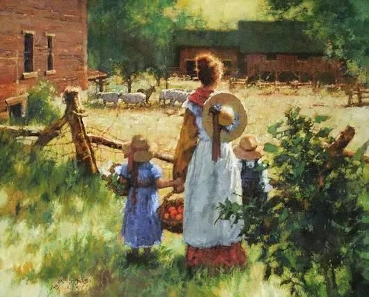 C·MICHAEL DUDASH的田园油画,太美了!插图35