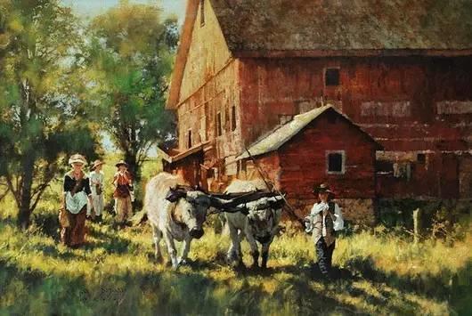 C·MICHAEL DUDASH的田园油画,太美了!插图41