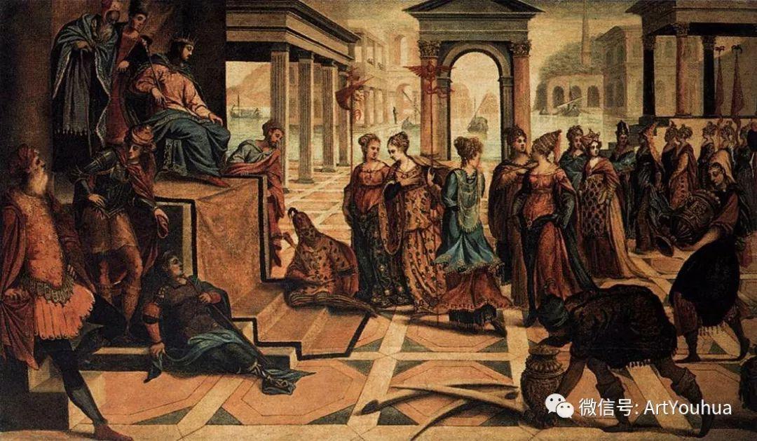 No.14 丁托列托 | 16世纪意大利威尼斯画派著名画家插图17