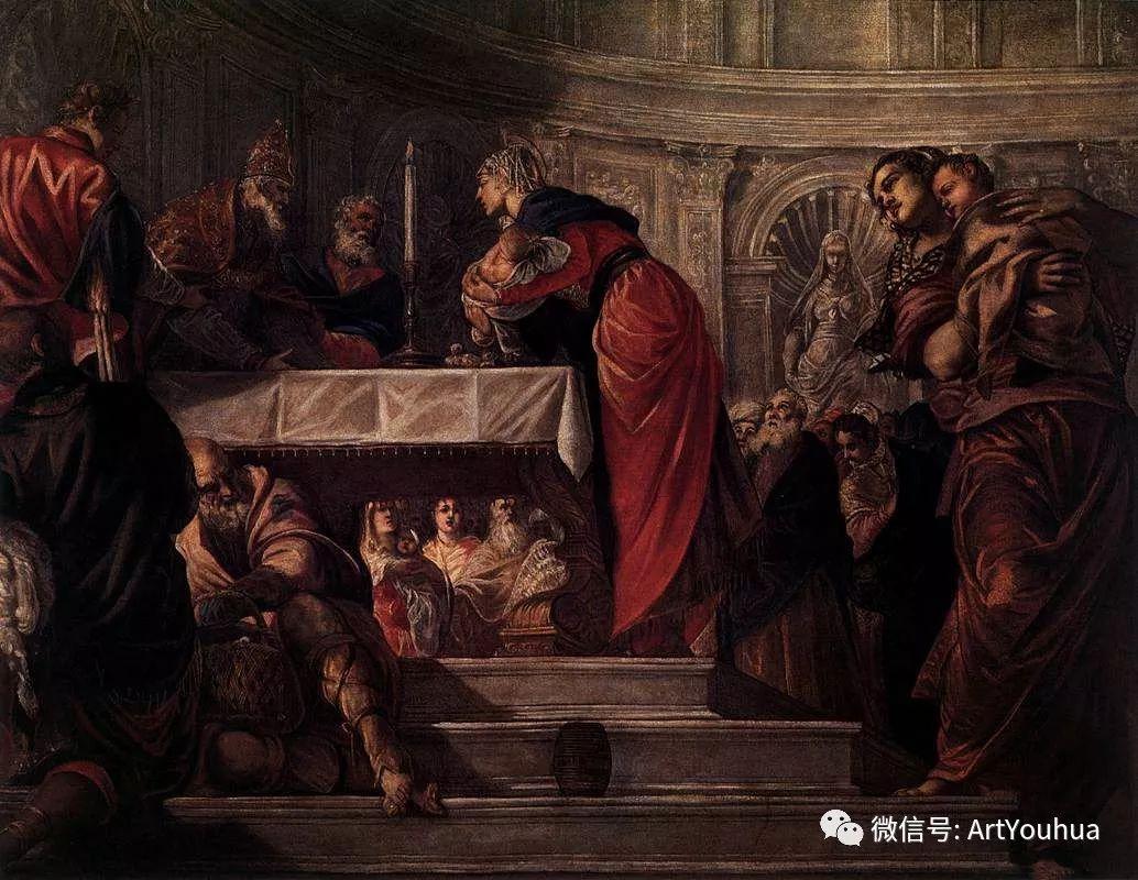 No.14 丁托列托 | 16世纪意大利威尼斯画派著名画家插图68