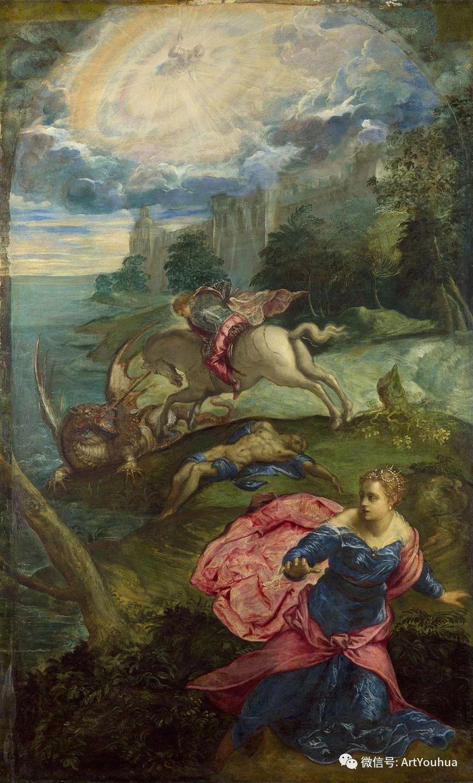 No.14 丁托列托 | 16世纪意大利威尼斯画派著名画家插图96