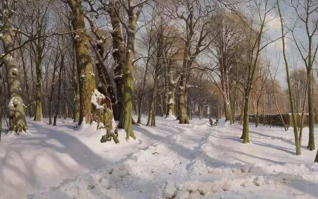 浪漫主义田园风光 丹麦油画大师蒙森德插图59