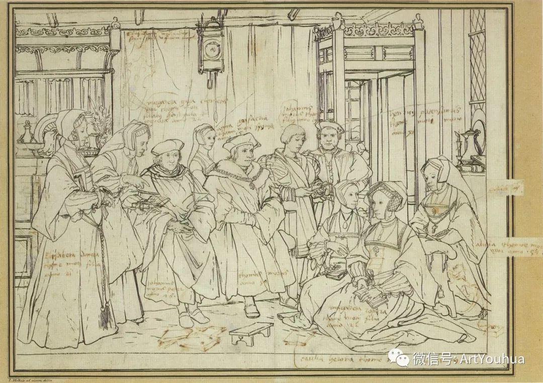 No.12 汉斯·荷尔拜因 | 16世纪德国最后一位著名的画家插图137