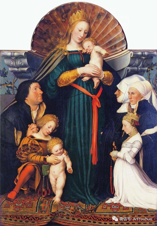 No.12 汉斯·荷尔拜因 | 16世纪德国最后一位著名的画家插图147