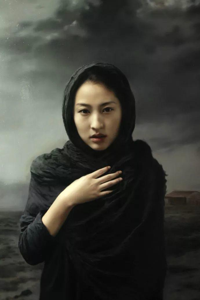 上古的空灵 王能俊油画作品欣赏插图13